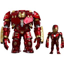 Hulkbuster og Iron Man Mark XLIII Artist Mix Bobble-Heads