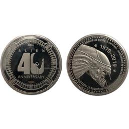 Alien: Alien Collectable Coin 40th Anniversary Silver Edition