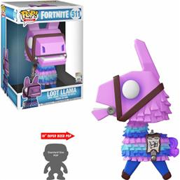Loot Llamae XL POP! Games Vinyl Figur 25 cm