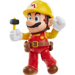 Super Mario Bros.: Mario Action Figure (Super Mario Maker 2) 10 cm