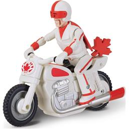 Toy Story: Duke Caboom with Motorcycle Pullback Figure 10 cm