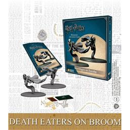 Harry Potter: Harry Potter Miniature 35 mm 2-Pack Death Eaters on Broom *English Version*