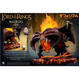 Lord Of The Rings: Balrog Deluxe Version Defo-Real Series Soft Vinyl Figure 16 cm