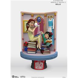Belle & Vanellope D-Stage PVC Diorama 15 cm