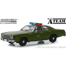 Plymouth Fury U.S. Army Police 1977 1/43