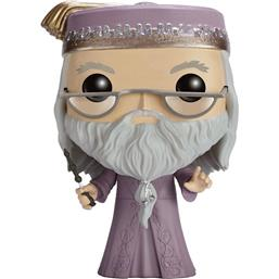 Harry Potter: Dumbledore med Tryllestav POP! Vinyl Figur (#15)