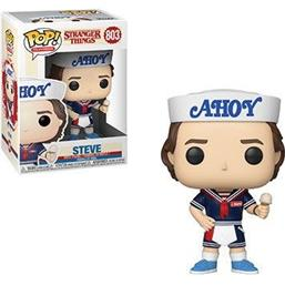 Steve with Hat and Ice Cream POP! TV Vinyl Figur (#803)