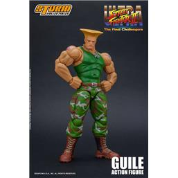 Guile The Final Challengers Action Figure 1/12 16 cm