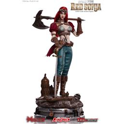 Red Sonja: Steampunk Red Sonja Deluxe Version Action Figure 1/6 29 cm