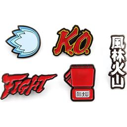Street Fighter: Street Fighter Icons Pins 5-Pak