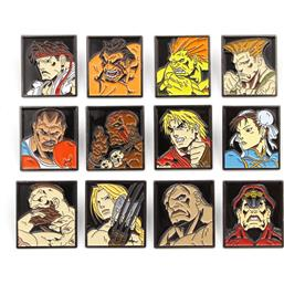 Street Fighter: Street Fighter Characters Pins 12-Pak
