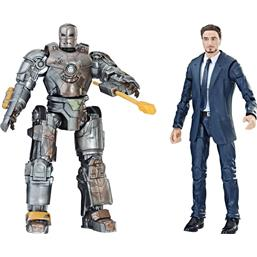 Tony Stark & Iron Man Mark I Marvel Legends Series Action Figure 2-Pack 15 cm