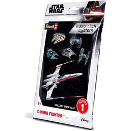 X-Wing Fighter Level 2 Easy-Click Snap Model Kit Series 1