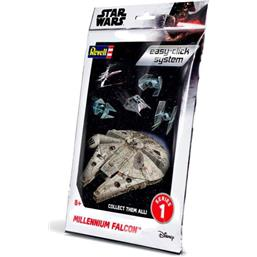 Millenium Falcon Level 2 Easy-Click Snap Model Kit Series 1