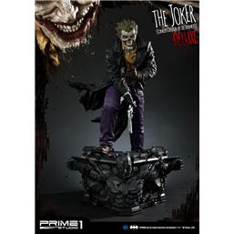 The Joker Statue by Lee Bermejo Deluxe Version 71 cm