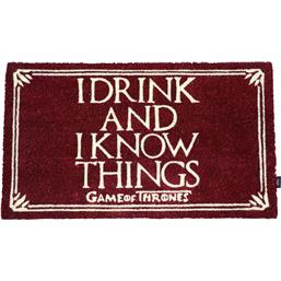 I Drink And I Know Things Dørmåtte 43 x 72 cm