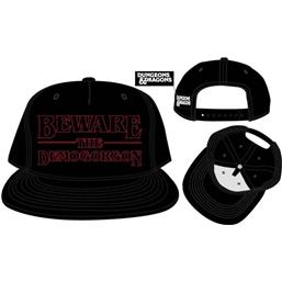 Beware the Demogorgon Snapback Cap