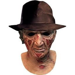 A Nightmare On Elm Street: Freddy Krueger Deluxe Latex Mask with Hat