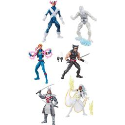 Uncanny X-Men Retro Action Figures 15 cm 2019 Wave 1 6-Pack