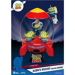 Toy Story: Alien's Rocket Deluxe Edition D-Stage PVC Diorama 15 cm