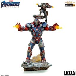 Iron Patriot & Rocket BDS Art Scale Statue 1/10 28 cm