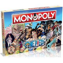 One Piece Monopoly Board Game *English Version*