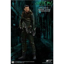 Arrow: Green Arrow 2.0 Deluxe Version Real Master Series Action Figure 1/8 23 cm