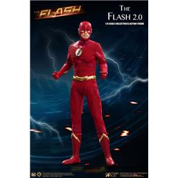 The Flash 2.0 Normal Version Real Master Series Action Figure 1/8 23 cm