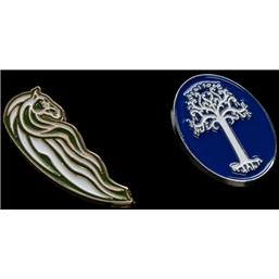 Rohan Horse & White Tree Collectors Pins 2-Pack