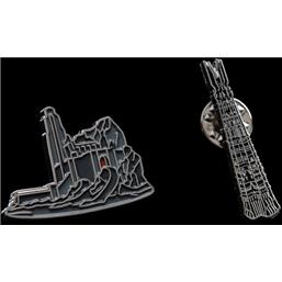 Lord Of The Rings: Helm's Deep & Orthanc Collectors Pins 2-Pack
