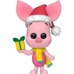 Peter Plys: Piglet Holiday POP! Disney Vinyl Figur