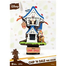 Chip 'n Dale Tree House D-Stage PVC Diorama 16 cm