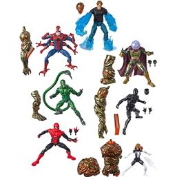 Spider-Man 2019 Wave 2 Marvel Legends Series Action Figures 15 cm 7+1 Pack