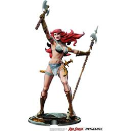 Red Sonja Statue 45th Anniversary by Frank Thorne 32 cm