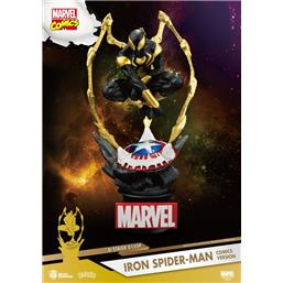 Iron Spider-Man Comic Version  D-Stage PVC Diorama 16 cm