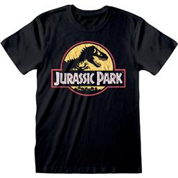 Jurassic Park Original Logo Distressed T-Shirt