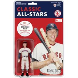 Carlton Fisk (Boston Red Sox) ReAction Action Figure 10 cm