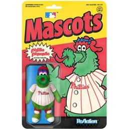 MLB Mascot Phillies Phillie ReAction Action Figure 10 cm