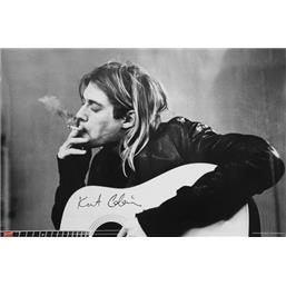 Kurt Cobain Smoking plakat