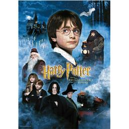 Harry Potter and the Sorcerer's Stone Movie Poster Puslespil