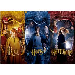 Harry Potter:  Harry, Ron & Hermione Puslespil