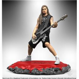 Pantera: Rex Brown Rock Iconz Statue 22 cm