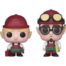 Funko Christmas Village: Randy & Rob Christmas Village POP! Holiday Vinyl Figur
