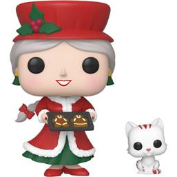 Mrs. Claus Christmas Village POP! Holiday Vinyl Figur
