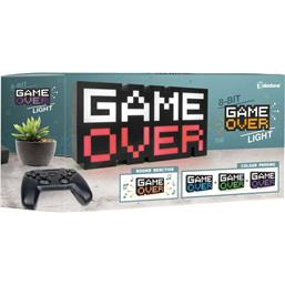 Retro Gaming: Game Over 8-BIT Lampe 30 cm