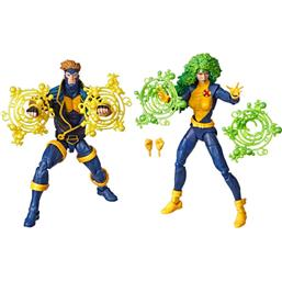 Havok & Polaris Marvel Legends 80th Anniversary Action Figures 2-Pack 15 cm