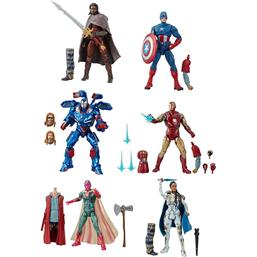 Avengers 2019 Wave 3 Marvel Legends Series Action Figures 7+1 Pack 15 cm