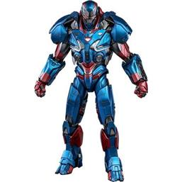 Iron Patriot Movie Masterpiece Series Diecast Action Figure 1/6 32 cm