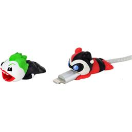 DC Comics: Joker & Harley Mini Scalers Cable Covers Figures 2-Pack
