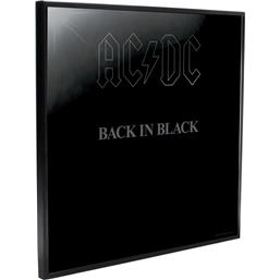 AC/DC: Back in Black Crystal Clear Picture 32 x 32 cm